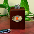 Illinois Illini NCAA College Paper Clip Holder