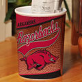 Arkansas Razorbacks NCAA College Office Waste Basket
