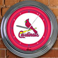 "St. Louis Cardinals MLB 15"" Neon Wall Clock"