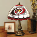 Carolina Hurricanes NHL Stained Glass Tiffany Table Lamp