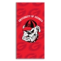 "Georgia Bulldogs College 30"" x 60"" Terry Beach Towel"
