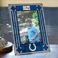 "Indianapolis Colts NFL 9"" x 6.5"" Vertical Art-Glass Frame"