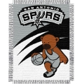"San Antonio Spurs NBA Baby 36"" x 46"" Triple Woven Jacquard Throw"