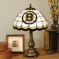 Boston Bruins NHL Stained Glass Tiffany Table Lamp