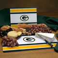 Green Bay Packers NFL Glass Cutting Board Set