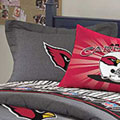 Arizona Cardinals NFL Team Denim Pillow Sham