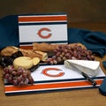 Chicago Bears NFL Glass Cutting Board Set