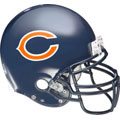 Chicago Bears Helmet Fathead NFL Wall Graphic