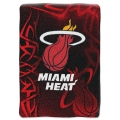 "Miami Heat NBA ""Tie Dye"" 60"" x 80"" Super Plush Throw"