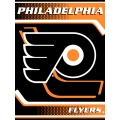 "Philadelphia Flyers NHL ""Tie Dye"" 60"" x 80"" Super Plush Throw"