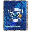 "New Orleans Hornets NBA 48"" x 60"" Triple Woven Jacquard Throw"