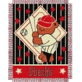 "Arizona Diamondbacks MLB Baby 36""x 46"" Triple Woven Jacquard Throw"