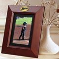 "Florida Marlins MLB 10"" x 8"" Brown Vertical Picture Frame"