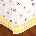 Flowerland Queen Bed Skirt
