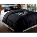 "Philadelphia Eagles NFL Twin Chenille Embroidered Comforter Set with 2 Shams 64"" x 86"""