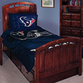 "Houston Texans NFL Twin Comforter Set 63"" x 86"""