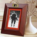 "Philadelphia Flyers NHL 10"" x 8"" Brown Vertical Picture Frame"