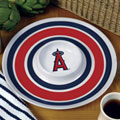 "Los Angeles Anaheim Angels MLB 14"" Round Melamine Chip and Dip Bowl"