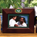 "New York Jets NFL 8"" x 10"" Brown Horizontal Picture Frame"