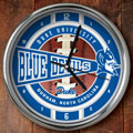 "Duke Blue Devils NCAA College 12"" Chrome Wall Clock"