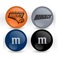 Charlotte Bobcats Custom Printed NBA M&M's With Team Logo