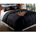 "Baltimore Orioles MLB Twin Chenille Embroidered Comforter Set with 2 Shams 64"" x 86"""