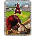 "Los Angeles Angels MLB ""Home Field Advantage"" 48"" x 60"" Tapestry Throw"