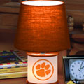 Clemson Tigers NCAA College Accent Table Lamp