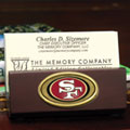San Francisco 49ers NFL Business Card Holder