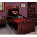 "Atlanta Falcons NFL Twin Comforter Set 63"" x 86"""