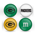 Green Bay Packers Custom Printed NFL M&M's With Team Logo