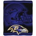 "Baltimore Ravens NFL ""Tonal"" 50"" x 60"" Super Plush Throw"
