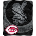 "Cincinnati Reds MLB ""Retro"" Royal Plush Raschel Blanket 50"" x 60"""
