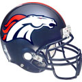 Denver Broncos Helmet Fathead NFL Wall Graphic