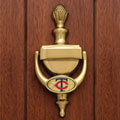 Minnesota Twins MLB Brass Door Knocker
