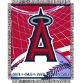 "Los Angeles Angels MLB 48""x 60"" Triple Woven Jacquard Throw"