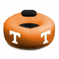 Tennessee Volunteers NCAA College Vinyl Inflatable Chair w/ faux suede cushions
