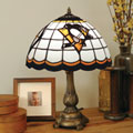 Pittsburgh Penguins NHL Stained Glass Tiffany Table Lamp