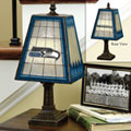 Seattle Seahawks NFL Art Glass Table Lamp