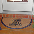 Arizona Wildcats NCAA College Half Moon Outdoor Door Mat