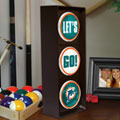 Miami Dolphins NFL Stop Light Table Lamp