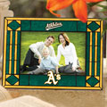 "Oakland Athletics MLB 6.5"" x 9"" Horizontal Art-Glass Frame"
