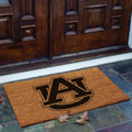 Auburn Tigers NCAA College Rectangular Outdoor Flocked Door Mat