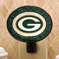 Green Bay Packers NFL Art Glass Nightlight
