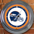 "Denver Broncos NFL 15"" Neon Wall Clock"