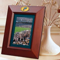 "Miami Dolphins NFL 10"" x 8"" Brown Vertical Picture Frame"