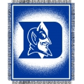 "Duke Blue Devils NCAA College ""Focus"" 48"" x 60"" Triple Woven Jacquard Throw"