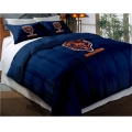 "Chicago Bears NFL Twin Chenille Embroidered Comforter Set with 2 Shams 64"" x 86"""