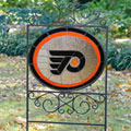 Philadelphia Flyers NHL Stained Glass Outdoor Yard Sign
