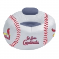 St. Louis Cardinals MLB Vinyl Inflatable Chair w/ faux suede cushions